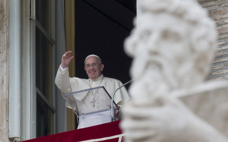 Mary's assumption shows life's aim is to be with God, Pope says