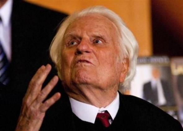 Billy Graham: Resurrection of Jesus Christ sets Christianity apart from all …