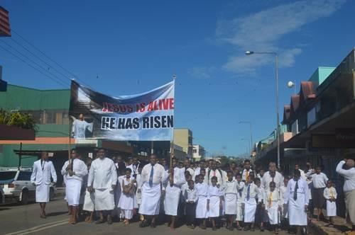 Christians celebrate resurrection of Jesus